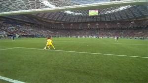 اشتباه عجیب لوریس و گل دوم کرواسی به فرانسه