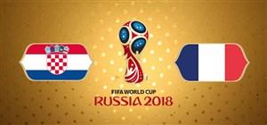 خلاصه بازی فرانسه 4 - کرواسی 2 (فینال جام جهانی روسیه)