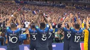 واکنشهای هواداران و بازیکنان پس از بازی فرانسه-کرواسی