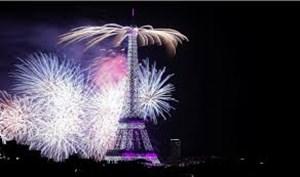 حال و هوای فرانسه در جشن با شکوه قهرمانی