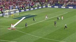 آنالیز عملکرد بازیکنان در دیدار فرانسه - کرواسی
