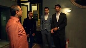 پشت صحنه حضور بازیکنان تیم ملی در برنامه قاچ