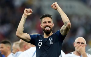 برترین گل ها و حرکات ژیرو در تیم ملی فرانسه