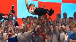 تشکر ویژه بازیکنان و هواداران کرواسی از دالیچ