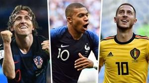 منتخب بهترین و جذابترین گلهای جام جهانی 2018