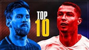 10 گل برتر لیونل مسی و کریستیانو رونالدو