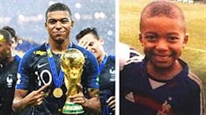 مهارتهای ستاره های فوتبال در دوران کودکی