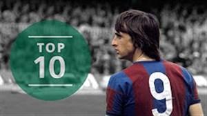 10 گل برتر یوهان کرایف ؛ اسطوره فقید بارسلونا