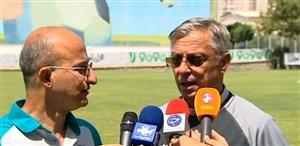 حواشی دیدار های تدارکاتی تیم ملی امید در عراق