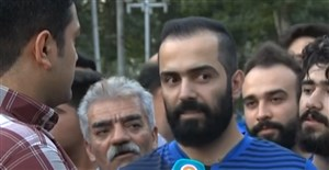 مصاحبه با هواداران استقلال قبل از دیدار با پیکان