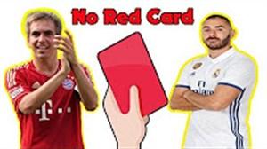 بازیکنانی بدون حتی یک کارت قرمز در طول دوران بازیشان