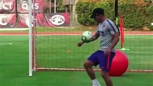 تسلط دیدنی دیگو سیمئونه روی توپ در حاشیه تمرین