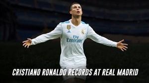 رکوردهای بینظیر کریستیانو رونالدو در رئالمادرید