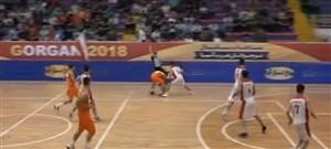 آغاز رقابتهای بسکتبالغربآسیا با پیروزینوجوانانایران