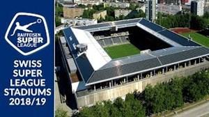 برترین استادیوم های لیگ سوئیس در فصل 19-2018
