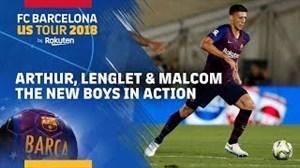 عملکرد آرتور و مالکوم، بازیکنان جدید بارسلونا