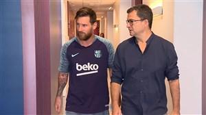 تست پزشکی بازیکنان بارسلونا قبل از شروع فصل