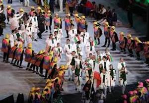 مراسم بدرقه کاروان ایران برای بازیهای آسیایی 2018