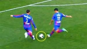 بازیکنانی با 2 ضربه ایستگاهی و 2 گل در یک بازی