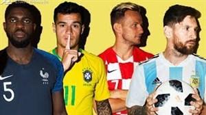 برترین لحظات بازیکنان خارجی بارسلونا در جامجهانی