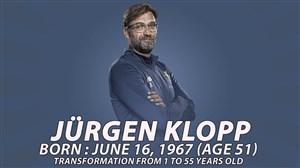 یورگن کلوپ از 1 تا 51 سالگی