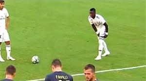 تکنیکها و مهارتهای جونیور بازیکن جدید رئال مادرید