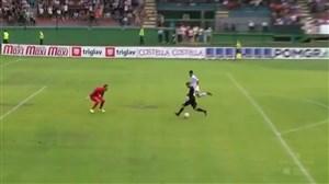 گل تکنیکی و تماشایی در لیگ اسلوونی