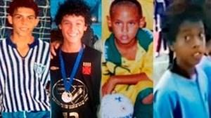 ظهور ستارگان برزیلی فوتبال از زمین فوتسال