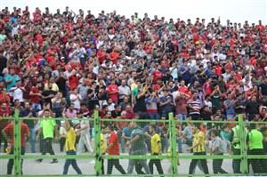 روز باشکوه ورزشگاه شهید وطنی بعد از 24 سال