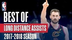 برترین پاس های بلند در NBA فصل 18-2017