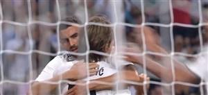 گل سوم رئال مادرید به آث میلان (مایورال)
