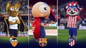 20 نماد عروسکی(شانس)معروف در باشگاههای اسپانیا