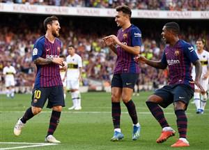 ترکیب اصلی بارسلونا و آلاوس اعلام شد