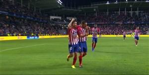 گل چهارم اتلتیکو به رئال مادرید (کوکه)