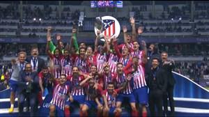 مراسم اهدای جوایز و جام قهرمانی سوپرکاپ اروپا