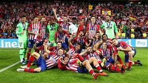 اتلتیکو مادرید بهترین تیم سال 2018 از سوی گلوب ساکر