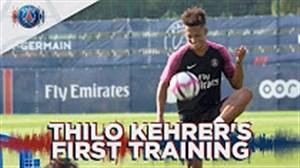 اولین روز حضور تیلو کهرر در باشگاه پاری سن ژرمن