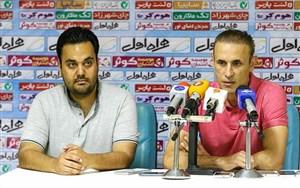گلمحمدی: اگر میشد، به بازیکنانم تعظیم میکردم