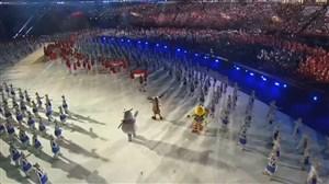 گزیده ای از مراسم افتتاحیه بازیهای آسیایی جاکارتا 2018