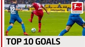 10 سوپر گل استادانه در بوندسلیگا 18-2017