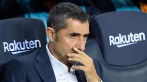 واکنش سرمربی بارسلونا به احتمال تمدید قرارداد