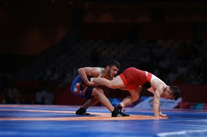 کسب مدال برنز رضا اطری در وزن 57 کیلوگرم