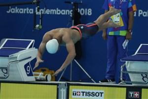 بنیامین رکورد ملی ۵۰ متر آزاد را شکست