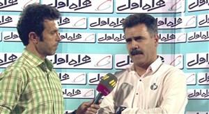 صحبت های پور موسوی پس از بازی با استقلال