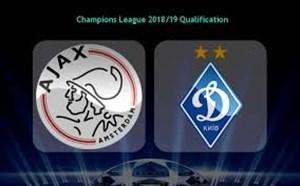 خلاصه بازی آژاکس 3 - دیناموکیف اوکراین 1 ( پلیآف لیگ قهرمانان)
