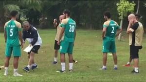 آخرین تمرین تیمملی امید برای بازی با کرهجنوبی
