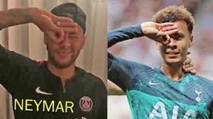 تلاش بازیکنان فوتبال برای اجرای چاش دله آلی