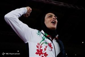 پیغام شهربانو منصوریان قهرمان طلایی ووشو جهان در سال 2019
