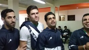 رقص تک دست ملی پوشان مازندرانی تیم ملی کبدی