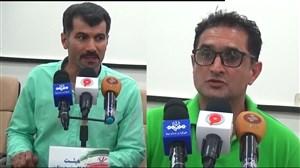 کنفرانس خبری استقلال خوزستان - سپیدرود رشت
